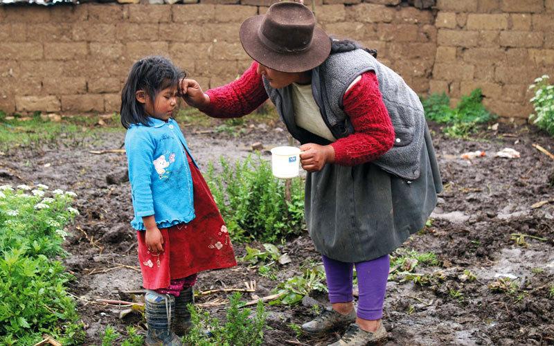 الصورة: «دبي العطاء» تطلق برنامجاً لدعم 500 طفل محروم في بيرو