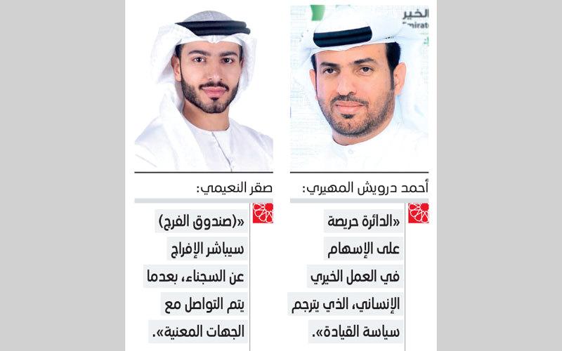 «إسلامية دبي» تتكفل بمديونية 11 سجيناً