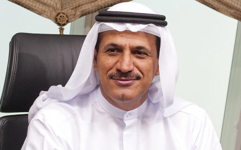 سلطان بن سعيد المنصوري: «سياسة الدولة الاقتصادية والتجارية قائمة على التنوع، والاستفادة من جميع الفرص التجارية والاستثمارية».