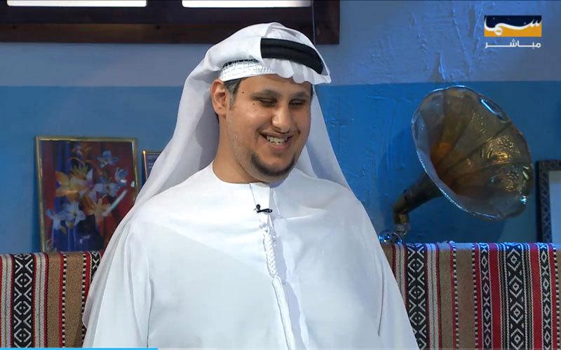 الإعلامي الإماراتي محمد الغفلي. من المصدر