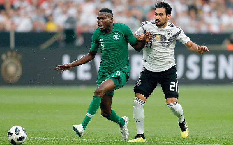 السعودية قدمت مباراة كبيرة في آخر لقاء ودي أمام ألمانيا وباتت جاهزة لافتتاح المونديال. إي.بي.إيه