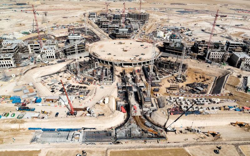 تطور مستمر في موقع «إكسبو 2020 دبي». من المصدر