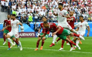 الصورة: المنتخب المغربي يخسر  بنيران صديقة