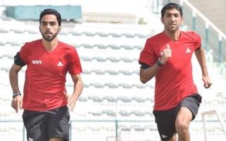 الصورة: طاقم التحكيم الإماراتي يظهر لأول مرة بالمونديال في مباراة المانيا والمكسيك
