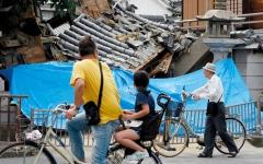 الصورة: زلزال أوساكا