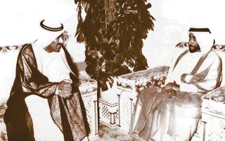 الصورة: بوجسيم: الشيخ زايد طالبني بالظهور المشرف في مونديال 94