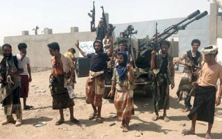 الصورة: «التحــالف» والقـــوات اليمنية المشتـركة يسيطران على مطار الحديدة ويطردان الحوثيين من قرية المنظر