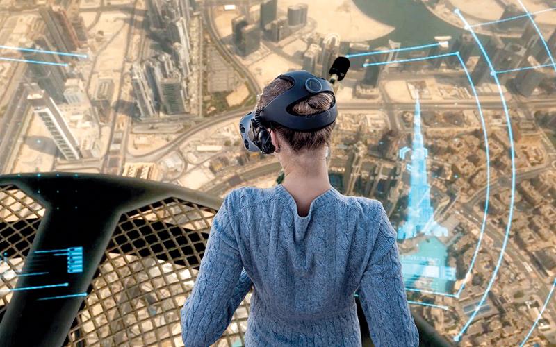 «قمة البرج» تتيح أروع الإطلالات على دبي.  من المصدر