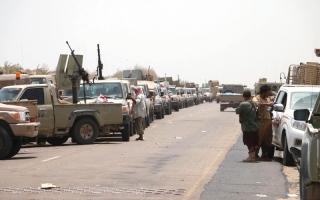 الصورة: المقاومة اليمنية تبدأ معركـة تحرير ميناء الحديـدة وتــدخــل أول أحياء المدينة
