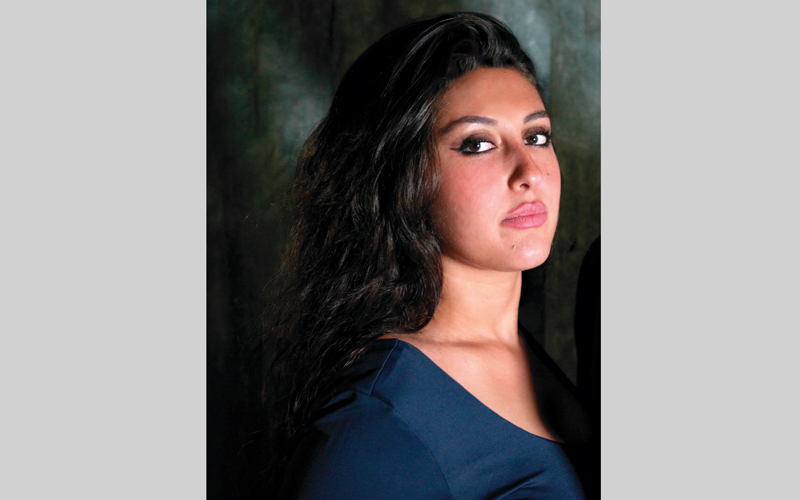 الممثلة السورية هبة الحموي. الإمارات اليوم