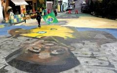 الصورة: جيزوس من عامل «دهان» شوارع  إلى لاعب في الـ «مونديال»