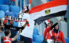 الصورة: 5 حقائق عن مباراة السعودية ومصر في روسيا