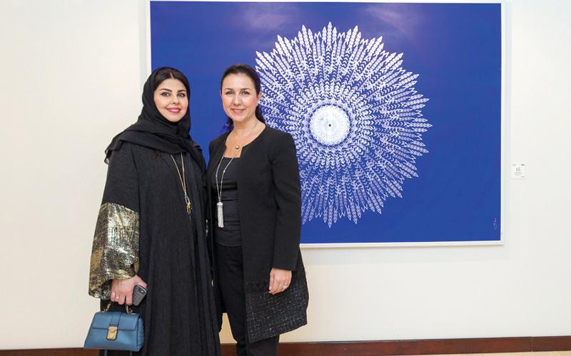 المعرض يشكّل انطلاق «فن جميرا»، وهي الشراكة التي أقيمت بين «جميرا القصر» و دبي للثقافة والفنون. من المصدر