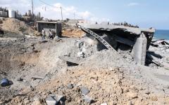 الصورة: إسرائيل و«حماس» تتفاوضان بالصواريخ والقذائف