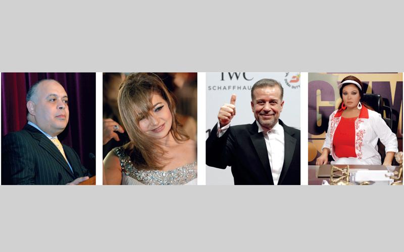 فيفي عبده وشريف منير وليلى علوي وأشرف زكي كانوا على رأس وفد الفنانين.  أرشيفية