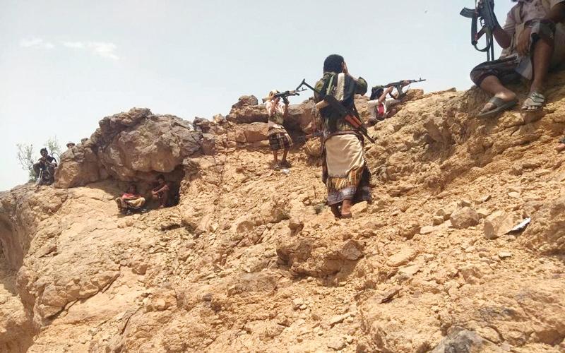الصورة: وصول تعزيزات عسكرية للمقاومـة اليمنية استعداداً للدخول إلى ميناء ومـدينة الحديدة