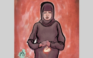الصورة: سرطان المعدة يهدّد حياة «أم محمد»
