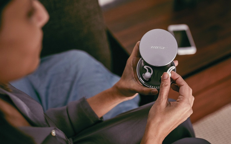 الصورة: شركة ناشئة تكشف عن نظام جديد للتخلص من الضوضاء أثناء النوم