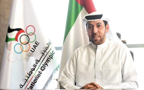 الصورة: أحمد بن محمد يصدر قراراً بتعيين الشنقيطي أميناً عاماً للجنة الأولمبية