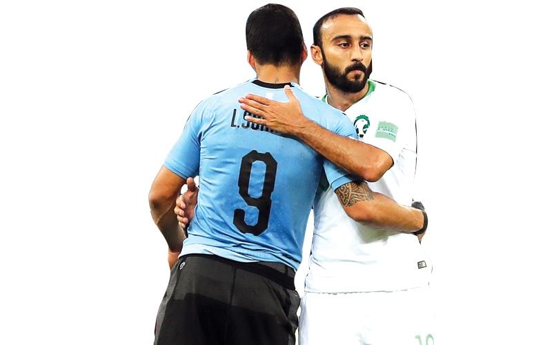 الصورة: 7 مشاهد ترفع إثارة مباراة السعودية ومصر في روسيا
