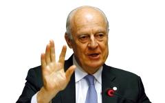 الصورة: دي ميستورا يبدأ مشاوراته لتشكيل اللجنة الدستورية السورية