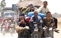 الصورة: قوات النظام تشن غارات مكـثفة على ريف درعا وتستعيد بلدات عدة