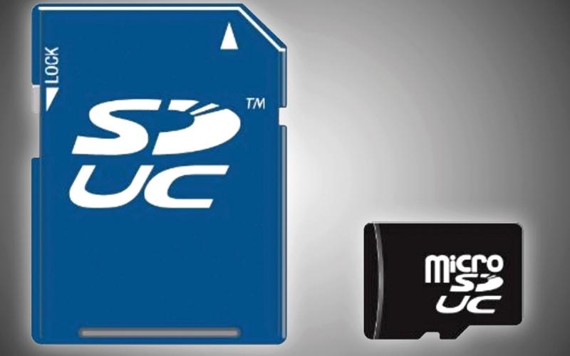 الصورة: معيار تخزين جديد يرفع سعة بطاقات الذاكرة «إس دي» إلى 128 تيرابايت