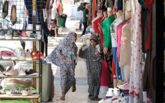 الصورة: الأردنيون يعلقون آمالاً على إعادة فتح الحدود السورية لإنعاش الاقتصاد