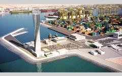 الصورة: حركة الملاحة البحرية تنفر من موانئ قطر