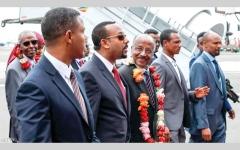 الصورة: التقارب الإثيوبي والإريتري صفعة تهدم مخطط قطر التخريبي في القرن الإفريقي