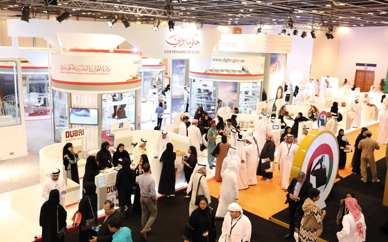 حكومة دبي تولي أهمية كبرى لبيئة العمل الداعمة واستقطاب أفضل الكفاءات. أرشيفية