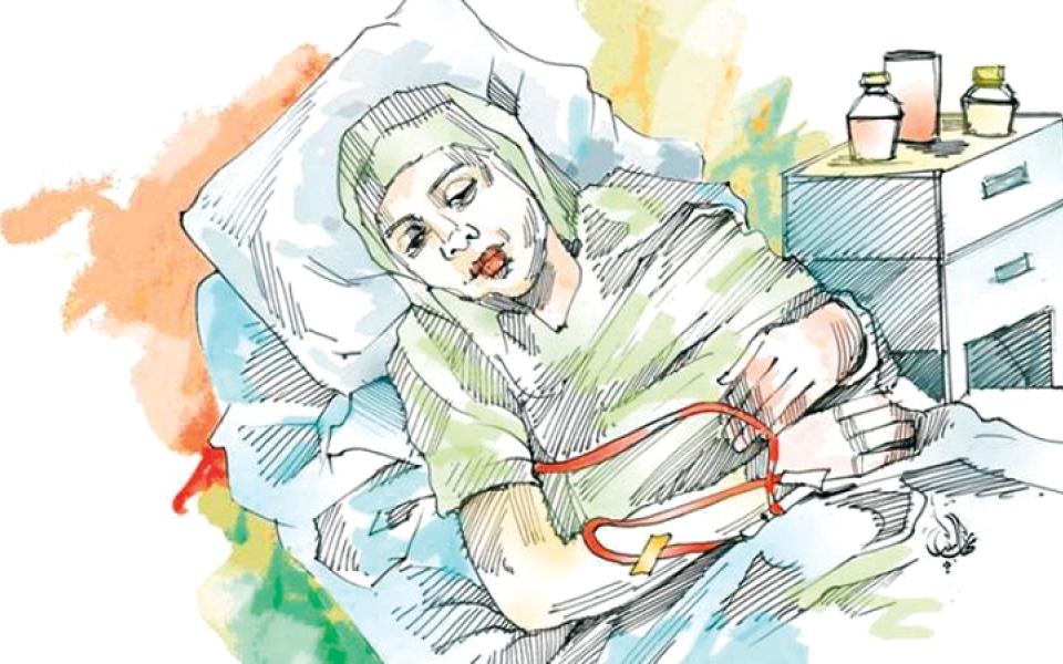 الصورة: متبرع يسدد كلفة العلاج الطبيعي لـ «أم سفيان»