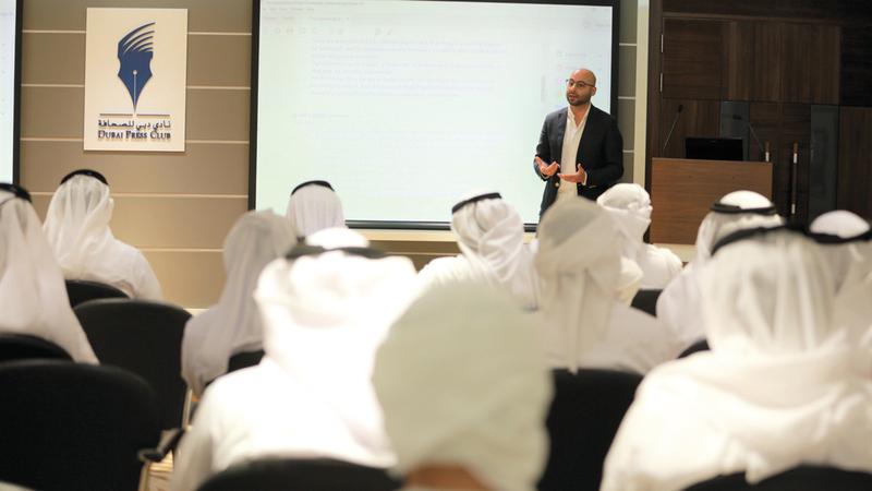 40 مؤسسة إعلامية محلية وعربية تدعم «الإعلامي الوطني للشباب». من المصدر