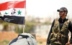 الصورة: سورية توسّع هجومها في الجنوب الغربي وتقصف جيباً لـ «داعش»