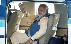 الصورة: لجنة برلمانية هندية تطالب بإدراج مودي في «غينيس»