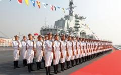 الصورة: الصين تبني سفناً حربية متطـورة لردع خصومها في آسيا
