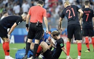 الصورة: طبيب: 4 أيام كافية لاستشفاء الكرواتيين بعد 360 دقيقة لعب في 10 أيام