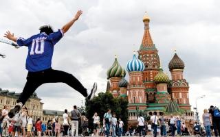 الصورة: لقطات من روسيا