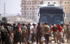 الصورة: القوات السورية توسع هجومها في الجنوب ليشمل محافظة القنيطرة