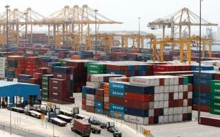 الصورة: 13.2 مليار درهم تبادل تجاري بين أبوظبي والصين في 2017