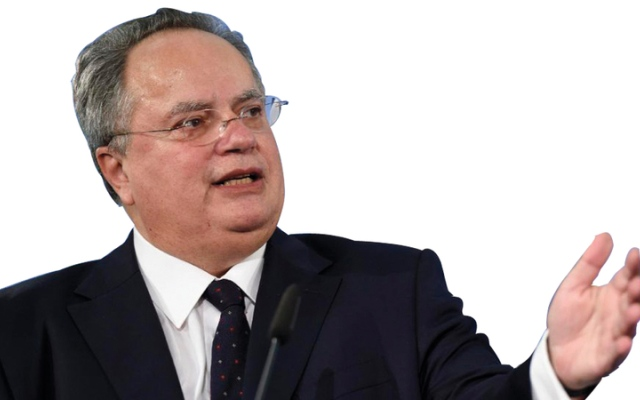 الصورة: إنترفيو..وزير خارجية اليونان: يتعين بذل جهد كبير للتعامل مع أسباب الهجرة