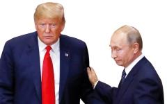 الصورة: محادثات ترامب وبوتين في قمة هلنسكي «صريحة  وناجحة ومفيدة»