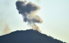 الصورة: قوات النظام تستعيد تل الحارة الاستراتيجي المطل على هضبة الجولان