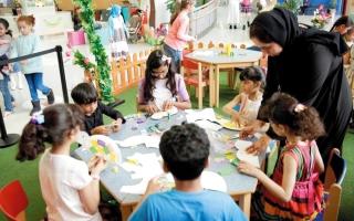 الصورة: «برامج ودورات متنوعة» في مهرجان المهارات الصيفية بمدينة الطفل