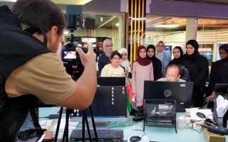 الصورة: 50 موهوباً يخوضون مبادرة «إعلامي المستقبل» في الشارقة