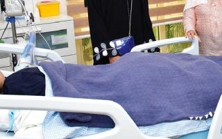 الصورة: «كِلية» رضيعة متوفاة في الدولة   تنقذ مريضة بالسعودية