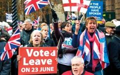 الصورة: قادة «البركسيت» ينسحبون مع اقتراب موعد الخروج من الاتحاد الأوروبي