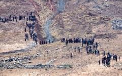 الصورة: «مراسلون بلا حدود» تطالب بحماية صحافيين محاصرين جنوب سورية
