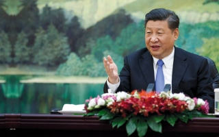 الصورة: الرئيس الصيني: الإمارات واحة التنمية في العالم العربي