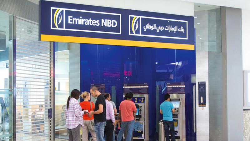 نسبة القروض إلى الودائع في البنك بقيت ضمن النطاق المستهدف من الإدارة عند 94.4%. تصوير: أحمد عرديتي